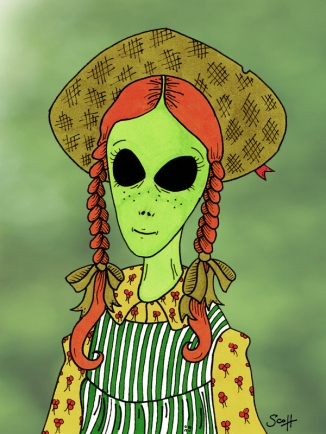 Alien of Green Gables sdf 2013