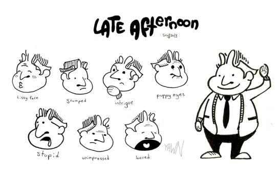 Schooner Sherman Character Design