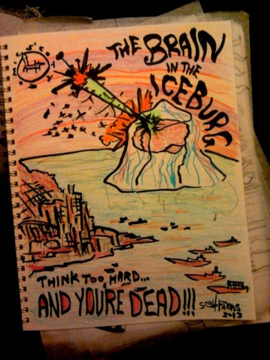 The Brain In The Iceberg sdf 2012