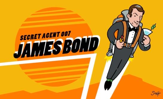 James Bond sdf 2014
