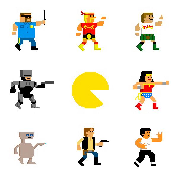 Character Design Pixel Art : Pixel art scotty world