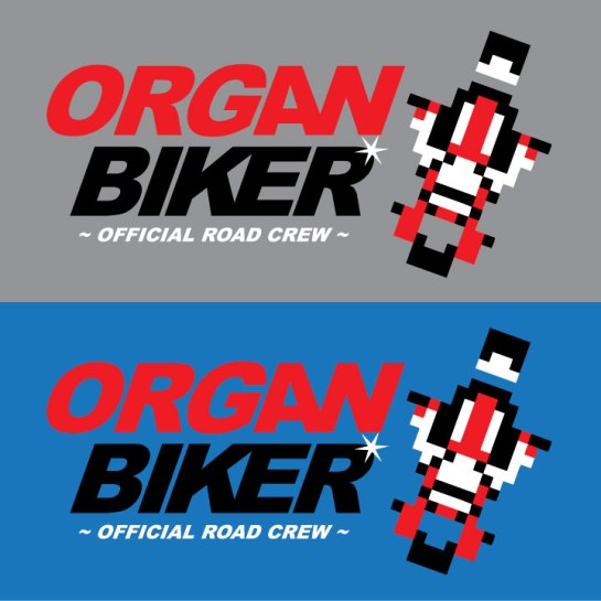 Organ Biker Shirt Design